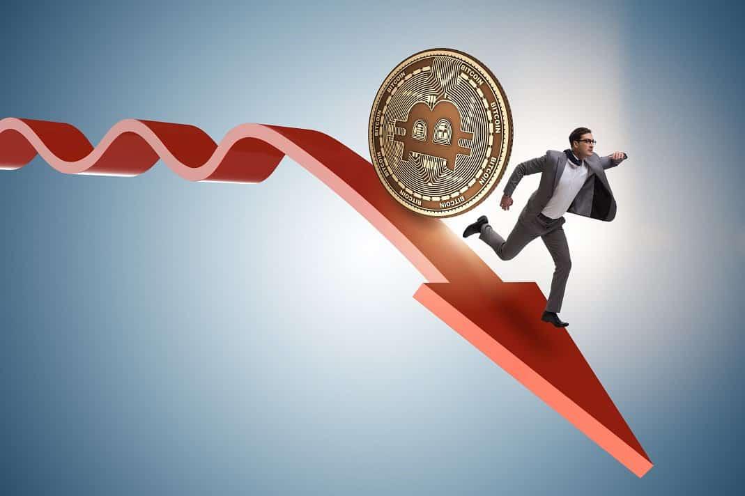 Bitcoin Cae Por Debajo De Los $10.000